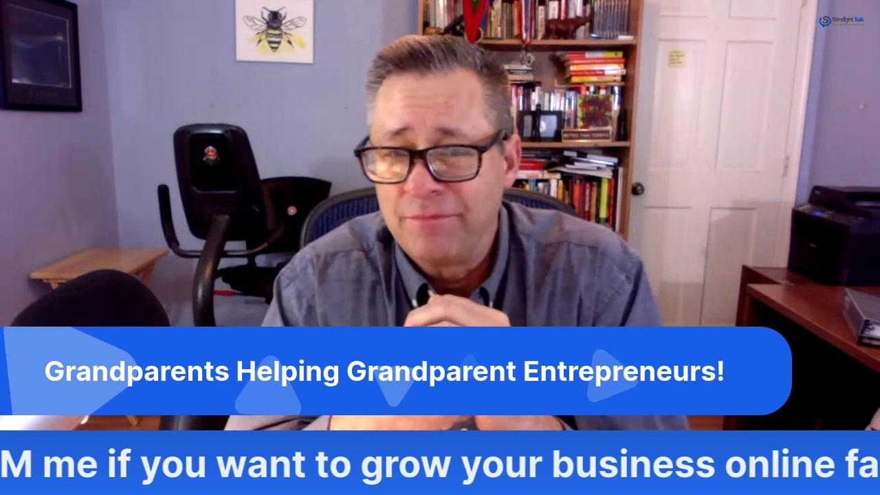 BIG ANNOUNCEMENT for Grandparent Entrepreneurs!